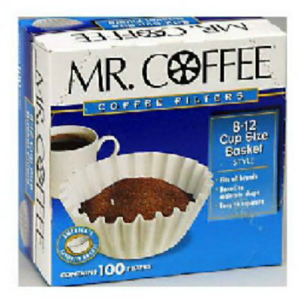 Mr. Coffee® UF500PB Basket Coffee Filters, 8-12 Cups, 500-Pack