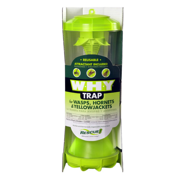 Rescue!® WHYTR-BB8 W·H·Y Trap for Wasps/Hornets/Yellowjackets