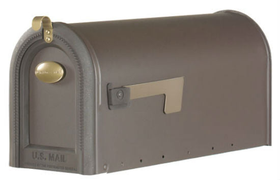 Gibraltar MB420R Windmere Rural Mailbox, Venetian Bronze, Large