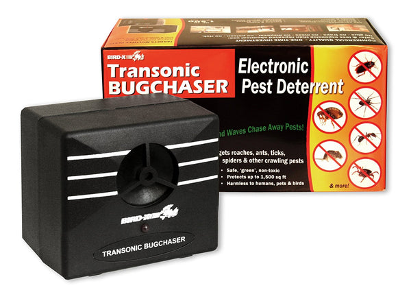 Bird-X TX-BUG Transonic Bugchaser Electronic Pest Deterrent, 1500 Sq.ft.