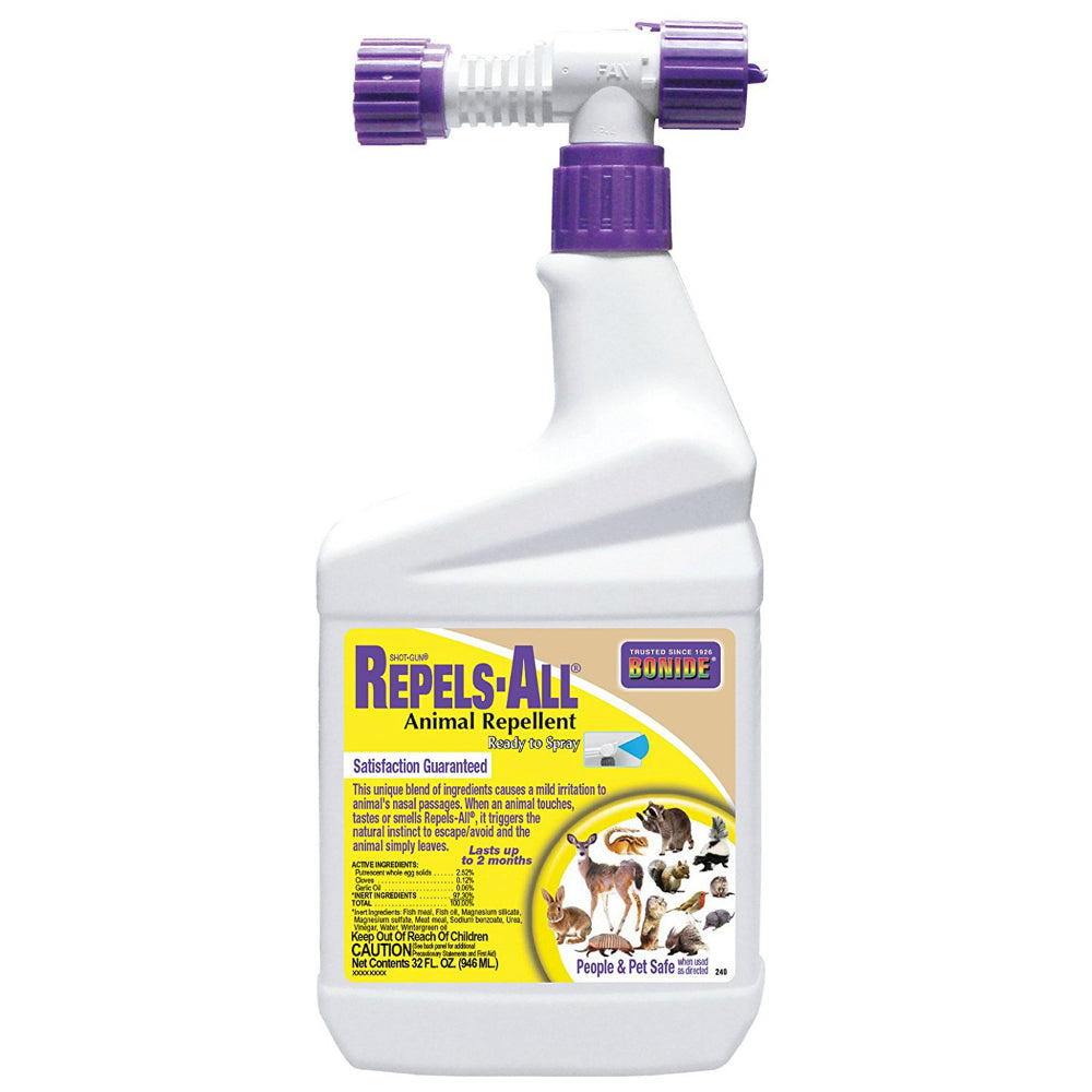 Bonide® 240 Repels-All® Animal Repellent, Ready-to-Spray, 32 Oz