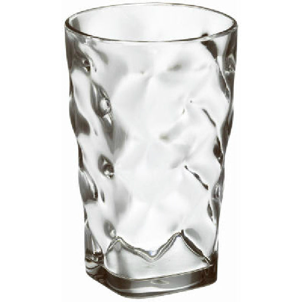 Free-Free Usa MB09HB-1-0 Clear Acrylic Baroque Highball Glass, 22 Oz
