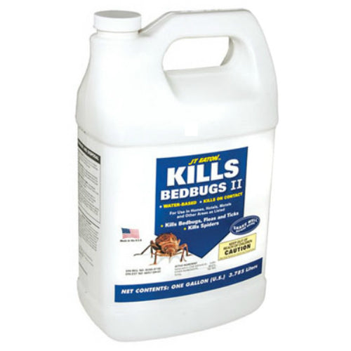JT Eaton™ 207-W1G Bed Bug II Killer, Water Based Formula, 1-Gallon
