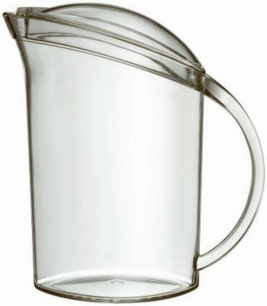Free Free USA NNPT1-0 Felli® Acrylic Accent Pitcher, Clear, 1.75 Qt