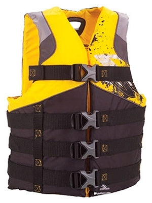 Stearns 2000012563 Men's Life Jacket, XXL/XXXL,Yellow