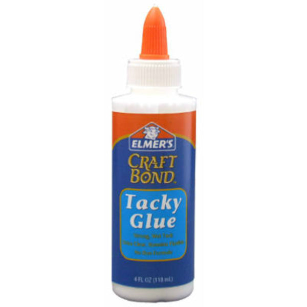 Elmer's E430 CraftBond® Tacky Glue, 4 Oz, Safe & Non-Toxic