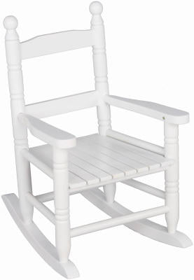 Jack-Post® KN-10W Knollwood Collection Classic Childs Porch Rocker, White Finish
