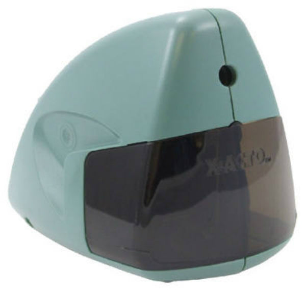 X-Acto® 19500 Mighty Mite® Electric Sharpener, Mineral Green