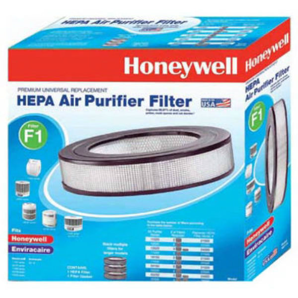 Honeywell HRF-F1 Long Life True HEPA Replacement Filter, Type F