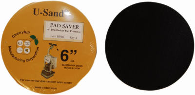 "Cherryhill BPS6 Backer Pad Saver 6"", 4-Pack"
