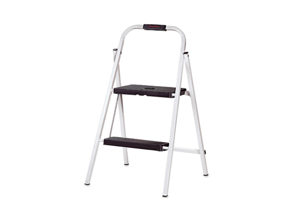 Gorilla Ladders® HSP-2G-TV Two-Step Skinny Mini Step Stool, 200 Lbs Capacity
