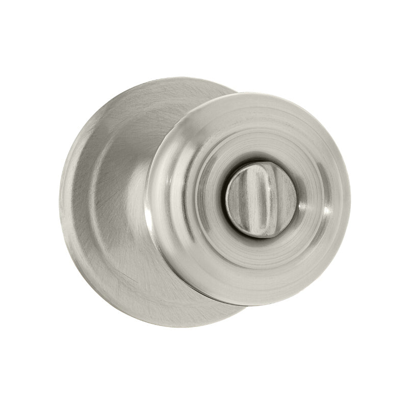 Kwikset® 730CN-15-CP Signature Series Cameron Privacy Knob Lockset, Satin Nickel