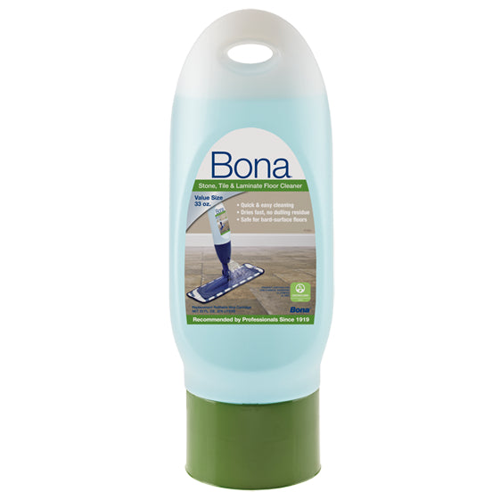 Bona® WM700061002 Stone/Tile & Laminate Cleaner Cartridge Refill, 33 Oz