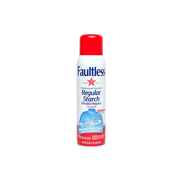 Faultless® 20706 Professional Regular Starch Spray, Original Fresh Scent, 20 Oz