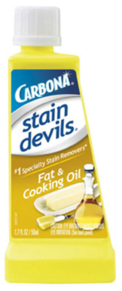 Carbona® 401/24 Stain Devils® #5 Fat & Cooking Oil Remover, 1.7 Oz