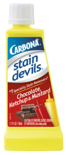 Carbona® 405/24 Stain Devils® #2 Chocolate, Ketchup & Mustard Remover, 1.7 Oz