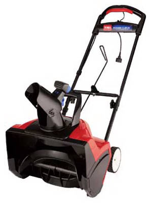 Toro® 38381 Electric Snow Thrower, 1800 Power Curve®, 15 Amp