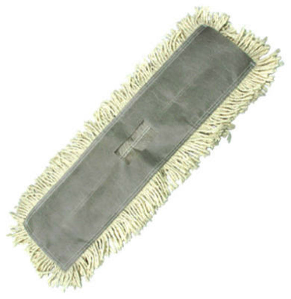 "Abco DM-41124 Tie-Less Style Loop-End Dust Mop, Natural, 5"" x 24"""