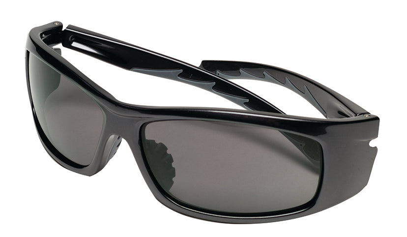 MSA Safety Works® 10105403 Nuevo™ Wrap Safety Glasses with Gray Lens