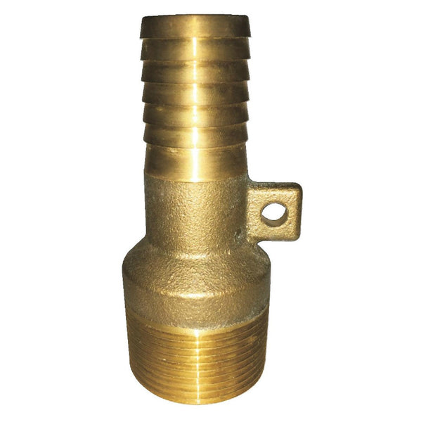 "Water Source™ MAR9125NL Brass Male Rope Adapter, No Lead, 1-1/4"" MNPT x 1"" Ins"