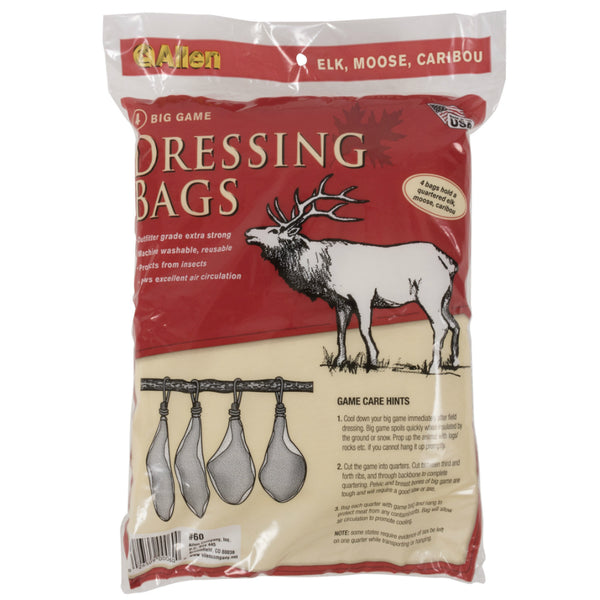 "Allen™ 60 Economy Big Game Quartering Bag, 48"" x 12"", 4 Pack"