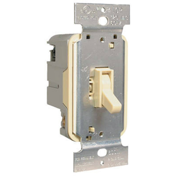 Pass & Seymour TradeMaster Toggle Dimmer, 600W, Ivory