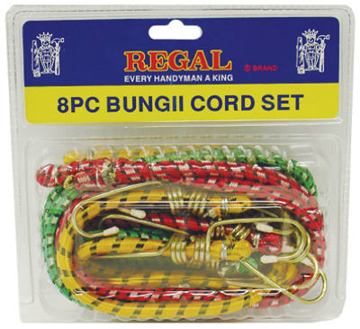 Bungee Cord Set 8 Piece
