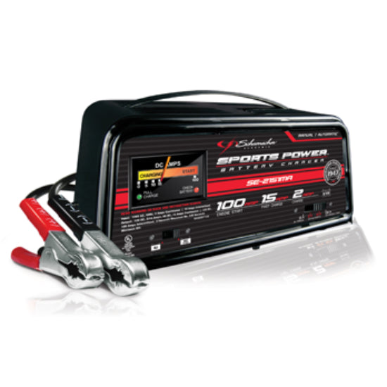 Schumacher® SE-2151MA Automatic/Manual Battery Charger w/Engine Start, 2/15/100A