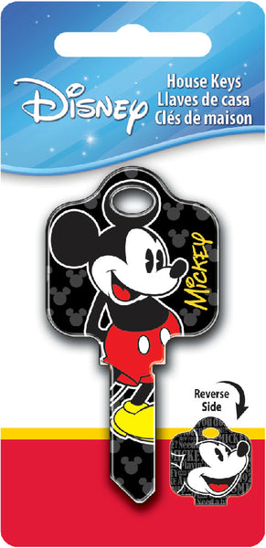 Hillman Fasteners 87625 Mickey Mouse Painted Disney Key Blank, KW1/KW10