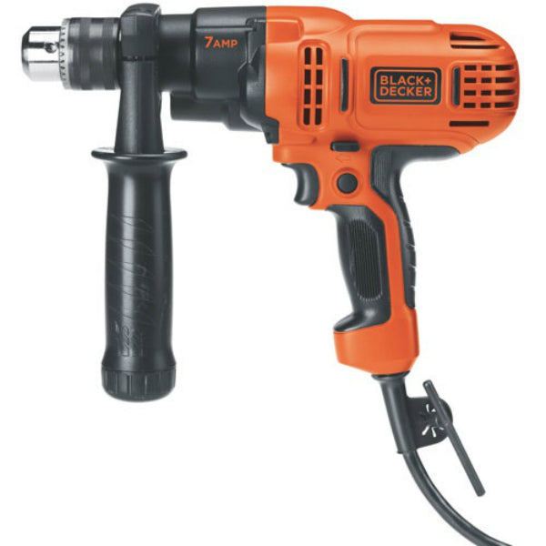 Black & Decker® DR560 Variable Speed Drill/Driver, 7 Amp, 1/2""
