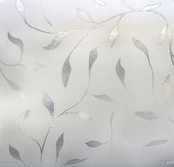 "Artscape® 01-0128 Etched Leaf Design Window Film, 24"" x 36"""