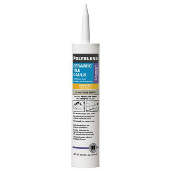 Polyblend® PC14510S-6 Ceramic Tile Caulk, #145 Light Smoke, 10.5 Oz