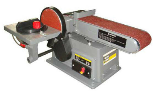 Master Mechanic MM4115 Belt & Disc Combo Sander, 4.2A Motor