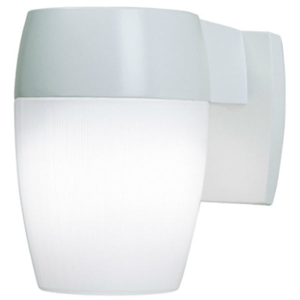 All-Pro™ PFL23PCW-T24 Fluorescent GU24 Dusk-To-Dawn Patio Light, White, 23W