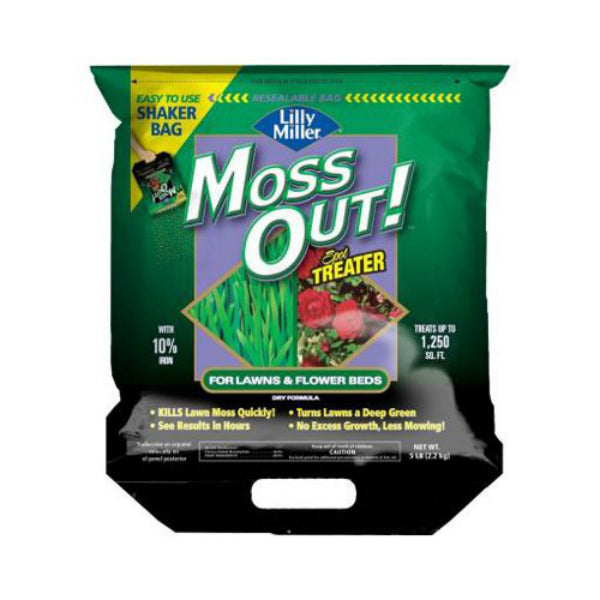 Lilly Miller® 100099159 Moss Out!® for Spot Treater, 5 lbs
