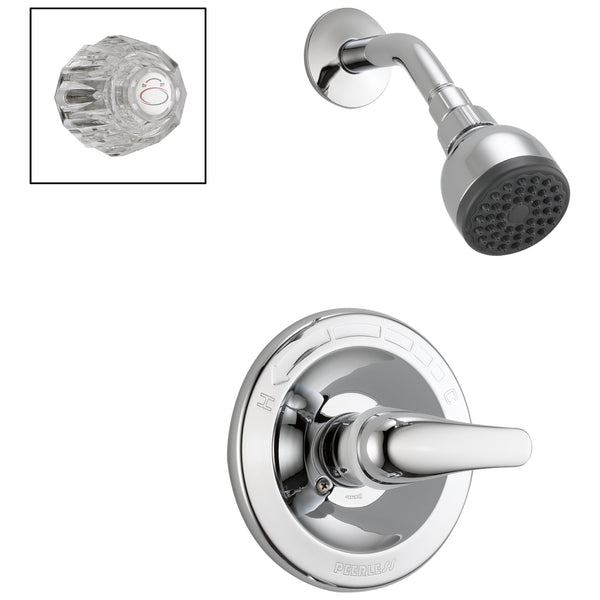 Peerless P188710 Shower Only Complete Combo Handle, Chrome