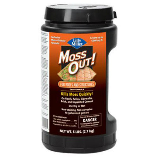 Lilly Miller® 100099153 Moss Out® for Roofs & Structures, 6 Lb