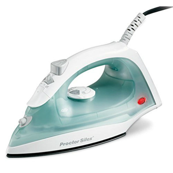 Proctor Silex 17291R NonStick Steam Iron w/Temperature Dial, 1200W