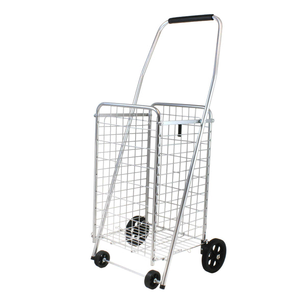 Faucet Queens® 39283 Helping Hand Pop 'N Shop Folding Cart with 4-Wheels