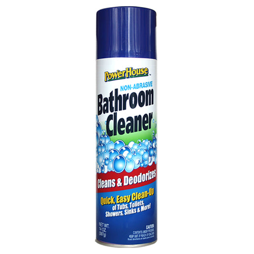 PowerHouse® 91092-8C Non-Abrasive Bathroom Cleaner, 13 Oz, Aerosol