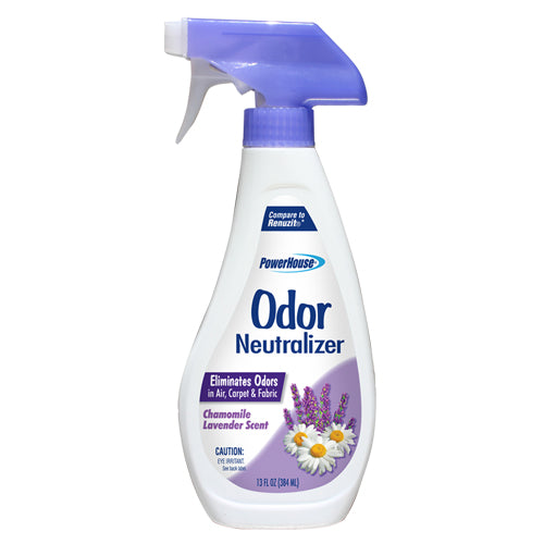 PowerHouse® 92597-7 Odor Neutralizer w/Trigger Spray, 13 Oz, Chamomile Lavender