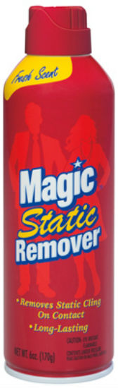 Magic® 39206 Static Remover Spray, Fresh Scent, 6 Oz