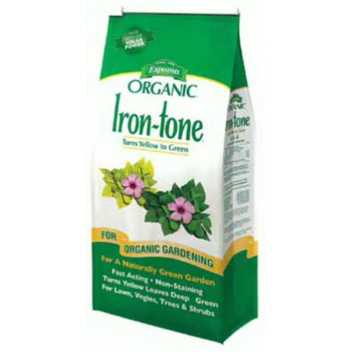 Espoma® IT5 Iron-Tone® All Natural Iron Supplement Plant Food, 2-0-3, 5 Lbs