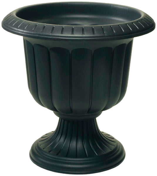 "Novelty 38148 Classic Durable Urn with 2-Piece Construction, 14"", Black"
