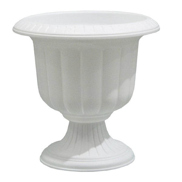 "Novelty 38192 Classic Decorative Urn, 19"", White"