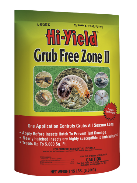 Hi-Yield® 33054 Grub Free Zone II Systemic Insecticide, 15 Lb