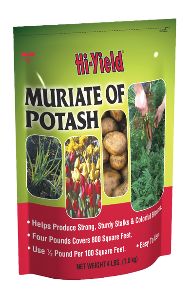 Hi-Yield® Muriate of Potash, 0-0-60, 4 Lb