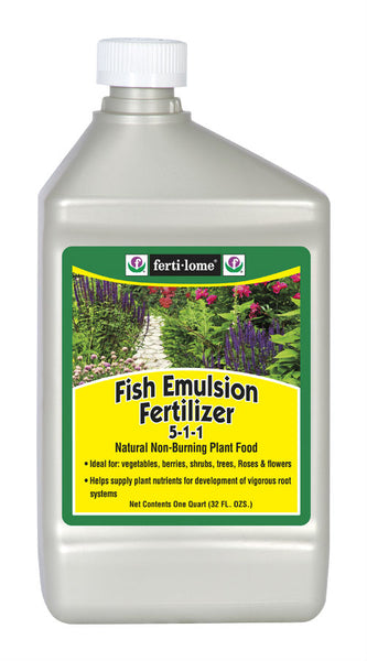 Ferti-lome® 10612 Fish Emulsion Fertilizer Concentrate, 5-1-1, 32 Oz
