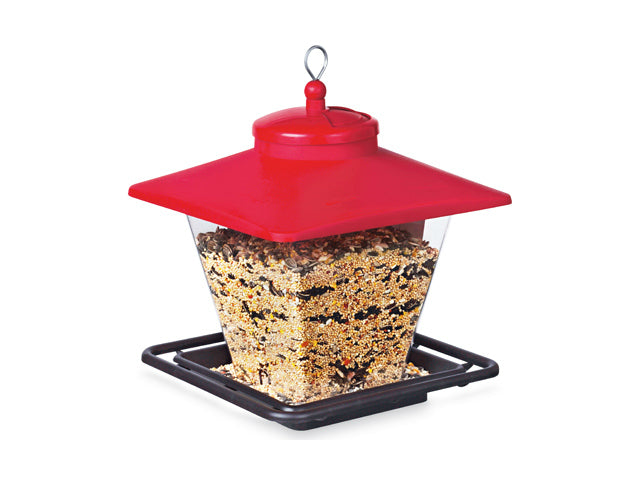 Audubon™ NA6228 Hopper Cafe Bird Feeder, 7 Lbs Seed Capacity