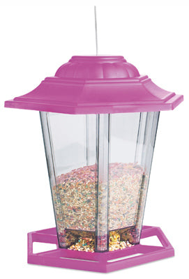 Audubon™ NA19971 Multi-Colored Plastic Lantern Bird Feeder, 8""
